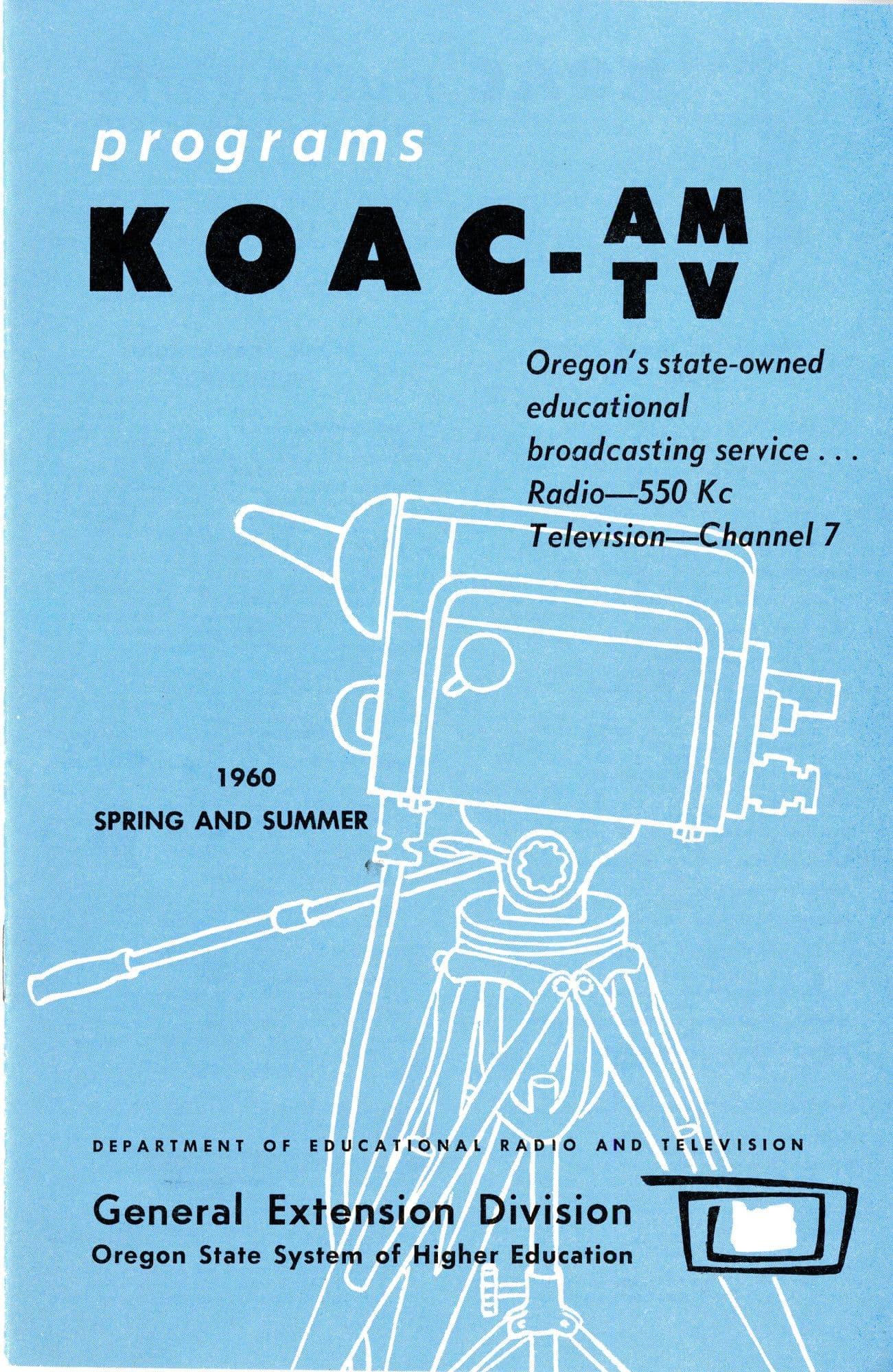 1960 KOAC program