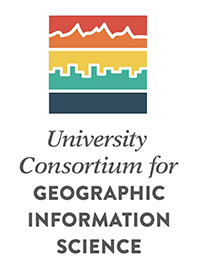 Logo for The University Consortium for Geographic Information Science