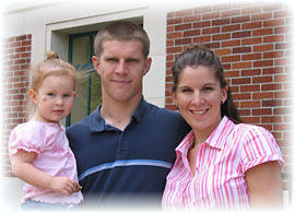 Sean Carothers and family