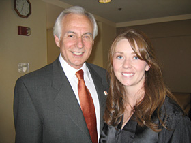 Amber Harrison with Mark Merickel