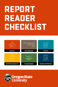 Report Reader Checklist cover