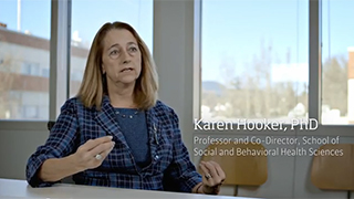 Karen Hooker explains what a human development and family sciences (HDFS) degree online degree is.
