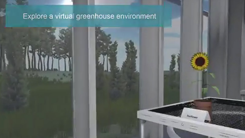 Virtual greenhouse