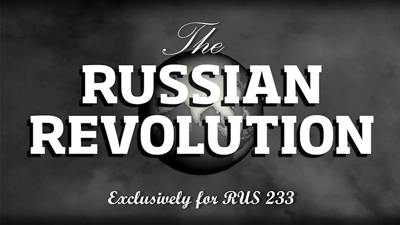 Russian revolution video